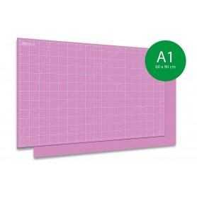 Tapis de découpe auto-cicatrisant A1-60x90cm ROSE