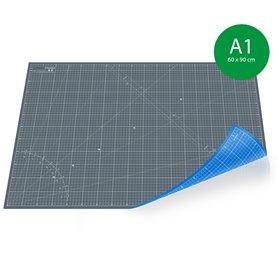 Tapis de découpe A2(45x60cm) - GRIS+BLEU