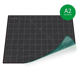 Tapis de découpe (PRO Noir-Vert) - A2 (45x60cm)