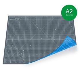 Tapis de découpe A1(60x90cm) - GRIS+BLEU