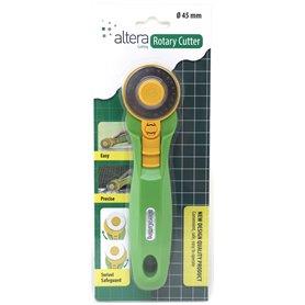 Cutter rotatif 45mm - 1 lame droite incl.